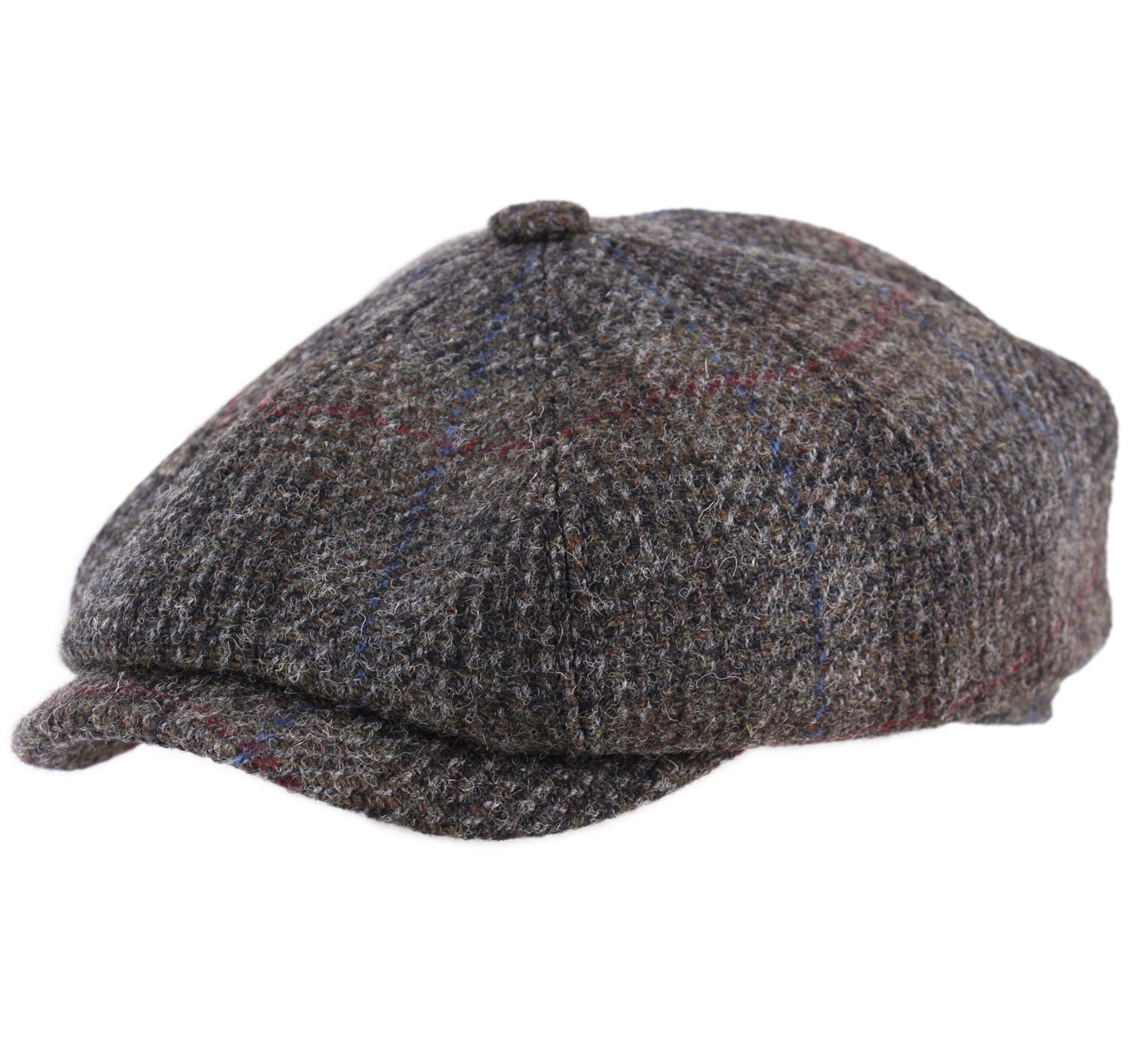 8 panels Harris Tweed - Caps Stetson 72e4a2bdcc19